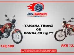 Honda CG125 Vs Yahamah YB125Z