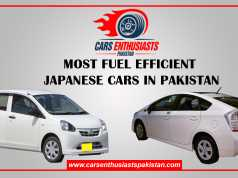 Most Fuel Efficient Japanese Cars in Pakistan