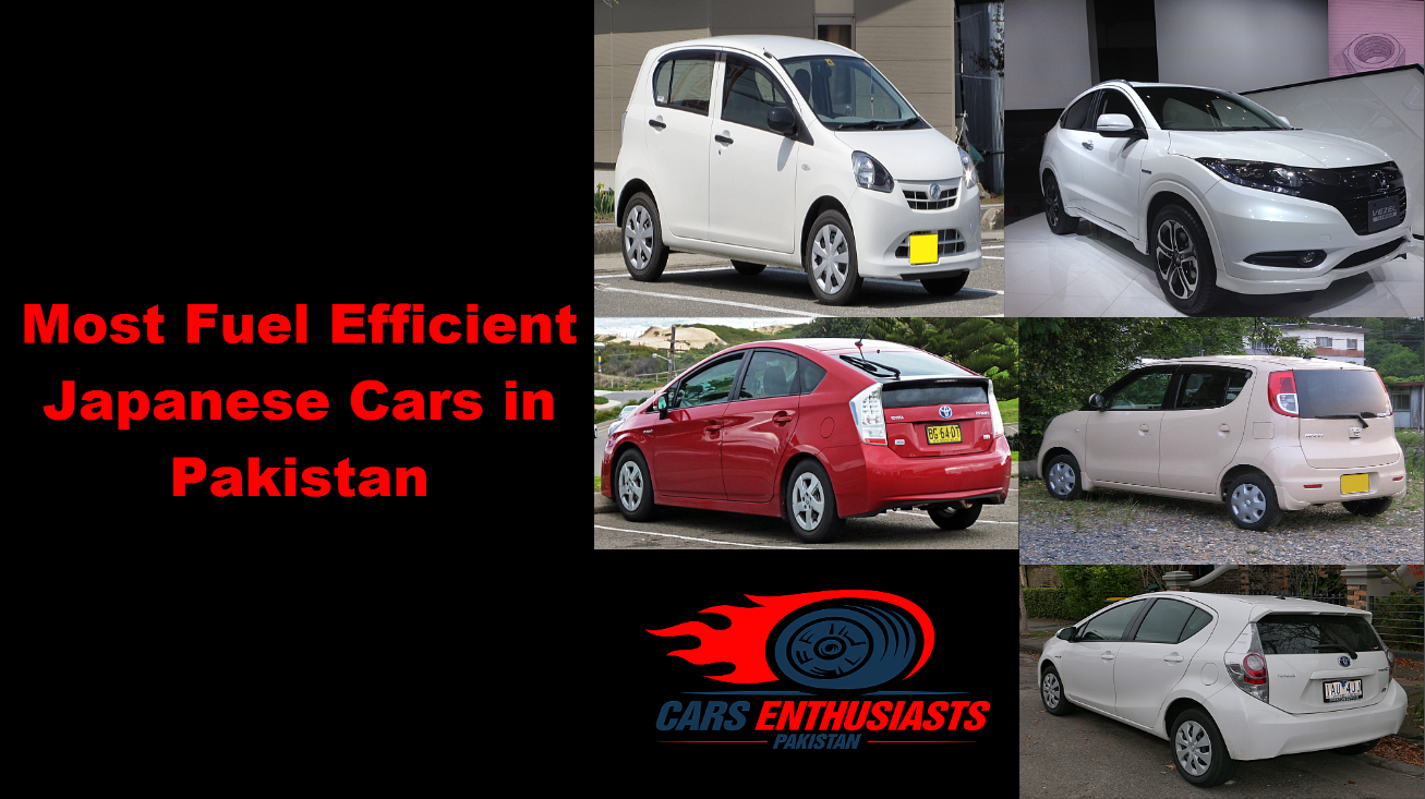 Most Fuel Efficient Japanese Cars In Pakistan Cars Enthusiasts