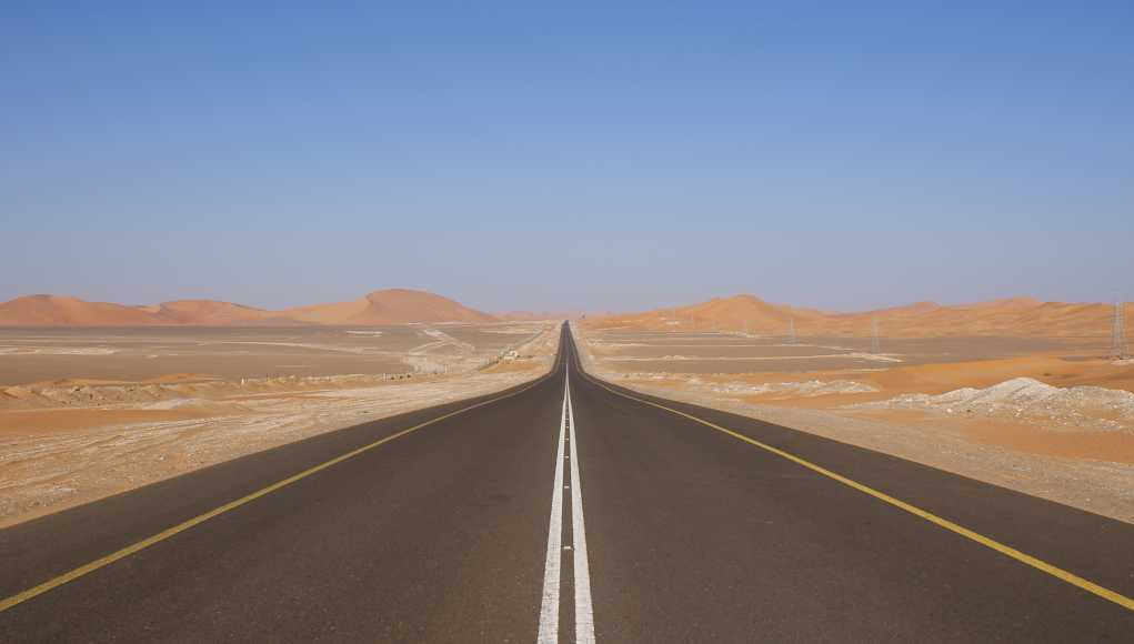 World's Longest Straight Road