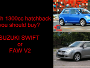 suzuki swift vs faw v2
