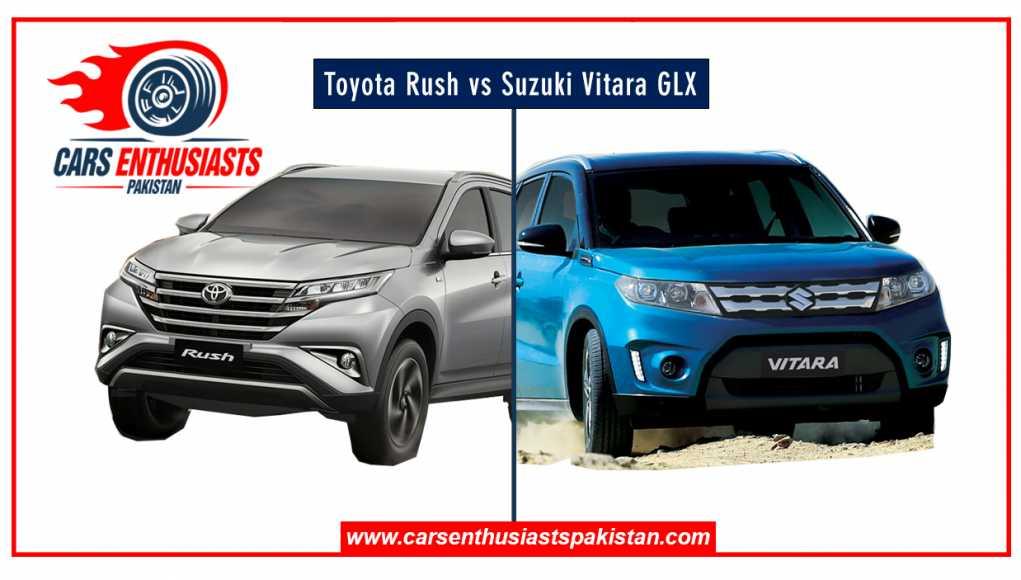 Suzuki Vitara GLX vs Toyota Rush